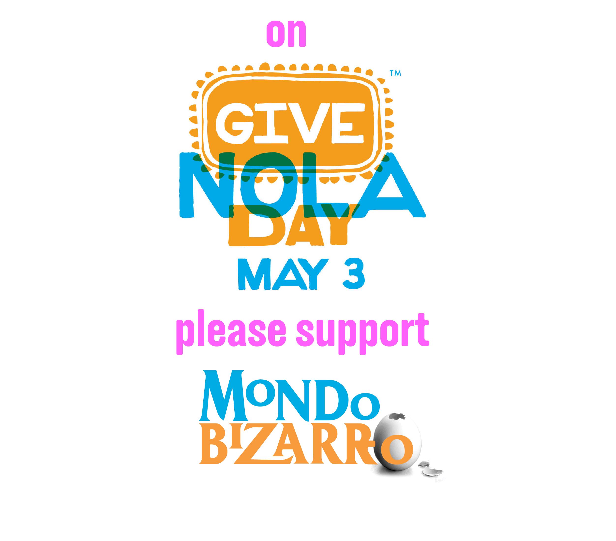 Give NOLA Support Mondo